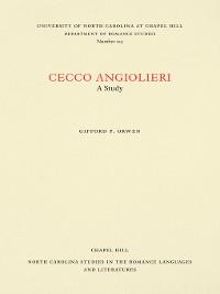 Cover Cecco Angiolieri