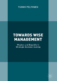 Cover Towards Wise Management