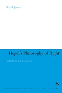 Cover Hegel's Philosophy of Right
