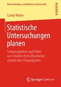 Cover Statistische Untersuchungen planen
