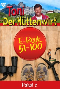 Cover Toni der Hüttenwirt Paket 2 – Heimatroman