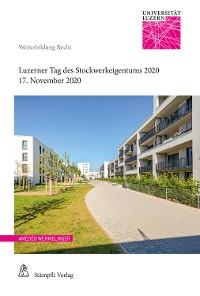 Cover Luzerner Tag des Stockwerkeigentums 2020