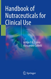 Cover Handbook of Nutraceuticals for Clinical Use
