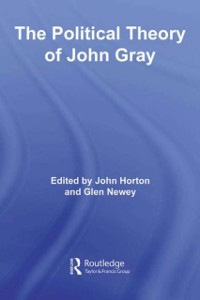Cover Political Theory of John Gray