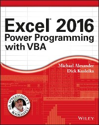 Cover Excel 2016 Power Programming with VBA