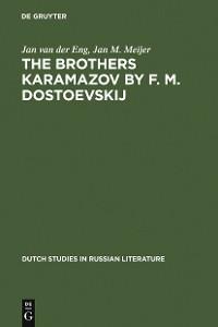 Cover The Brothers Karamazov by F. M. Dostoevskij