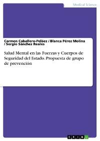 Cover Salud Mental en las Fuerzas y Cuerpos de Seguridad del Estado. Propuesta de grupo de prevención