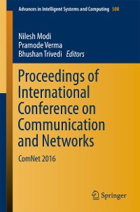 Cover Proceedings of International Conference on Communication and Networks