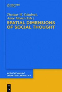 Cover Spatial Dimensions of Social Thought