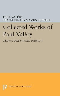Cover Collected Works of Paul Valery, Volume 9