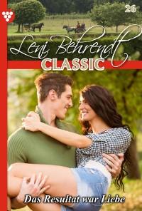 Cover Leni Behrendt Classic 26 – Liebesroman
