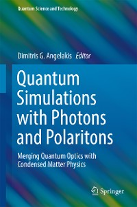Cover Quantum Simulations with Photons and Polaritons
