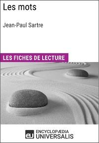 Cover Les Mots de Jean-Paul Sartre