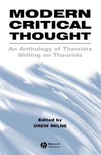 Cover Modern Critical Thought