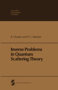 Cover Inverse Problems in Quantum Scattering Theory