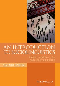 Cover An Introduction to Sociolinguistics
