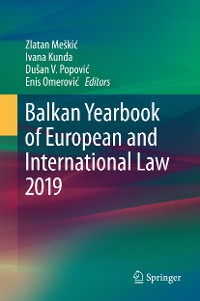 Cover Balkan Yearbook of European and International Law 2019