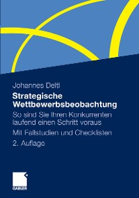 Cover Strategische Wettbewerbsbeobachtung