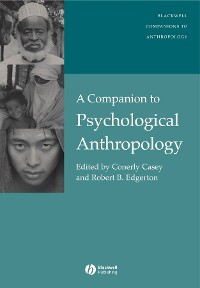 Cover A Companion to Psychological Anthropology
