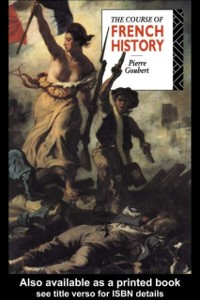 Cover Course of French History
