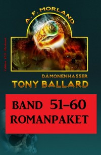 Cover Tony Ballard Band 51 bis 60 Romanpaket