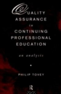 Cover Quality Assurance in Continuing Professional Education