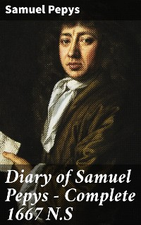 Cover Diary of Samuel Pepys — Complete 1667 N.S