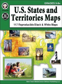 Cover U.S. States and Territories Maps, Grades 5--8