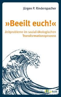 Cover »Beeilt euch!«