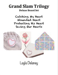 Cover Grand Slam Trilogy: Deluxe Boxed Set - Catching My Heart, Wounded Heart, Protecting His Heart, Saving Our Hearts
