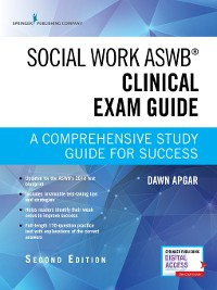 Cover Social Work ASWB Clinical Exam Guide