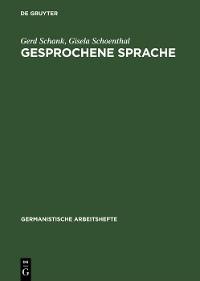 Cover Gesprochene Sprache