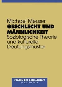Cover Geschlecht und Mannlichkeit