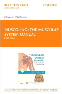 Cover Muscular System Manual - E-Book
