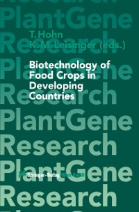 Cover Biotechnology of Food Crops in Developing Countries