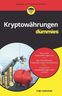 Cover Kryptowährungen für Dummies