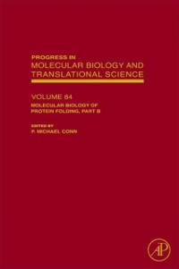 Cover Molecular Biology of Protein Folding, Part B