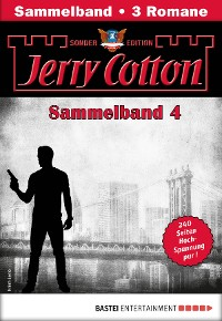 Cover Jerry Cotton Sonder-Edition Sammelband 4 - Krimi-Serie