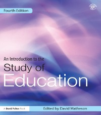 Cover Introduction to the Study of Education