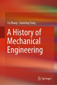 Cover A History of Mechanical Engineering