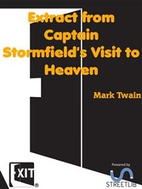 Cover Extract from Captain Stormfield's Visit to Heaven