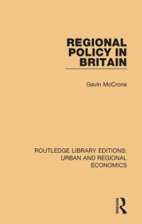 Cover Regional Policy in Britain