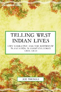 Cover Telling West Indian Lives