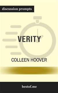 "Cover Summary: ""Verity"" by Colleen Hoover 
