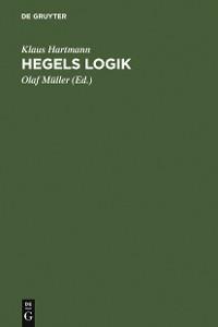 Cover Hegels Logik