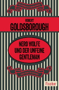 Cover Nero Wolfe und der unfeine Gentleman