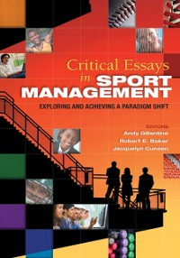 Cover Critical Essays in Sport Management