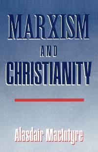 Cover Marxism and Christianity