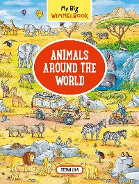 Cover My Big Wimmelbook—Animals Around the World