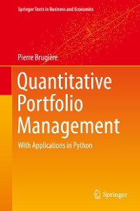 Cover Quantitative Portfolio Management